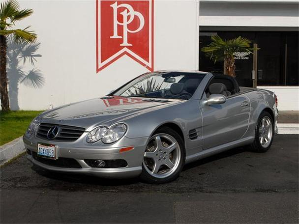 2003 mercedes benz sl500 for sale in bellevue washington