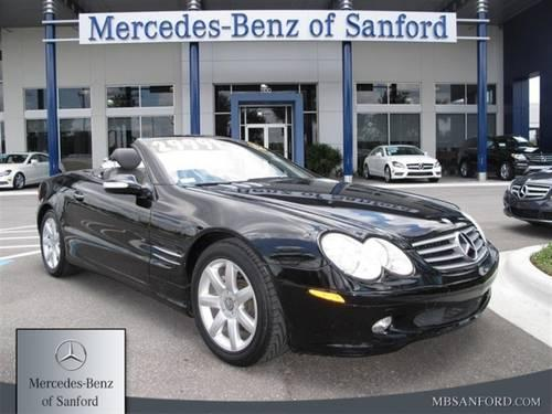 2003 mercedes benz sl500 coupe sl500 for sale in lake for Mercedes benz lake forest