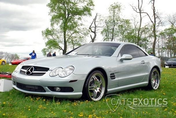 2003 mercedes benz sl55 amg loaded custom build no expense for Mercedes benz build a car