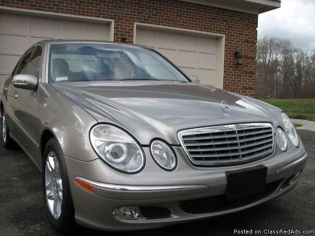 2003 mercedes e320 pewter silver 50k for sale in baltimore maryland classified. Black Bedroom Furniture Sets. Home Design Ideas
