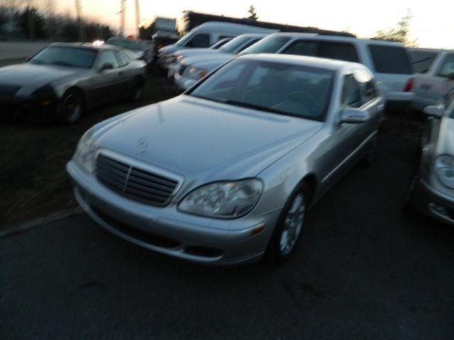 2003 mercedes s430 v8 silver 4dr for sale in fort wayne. Black Bedroom Furniture Sets. Home Design Ideas