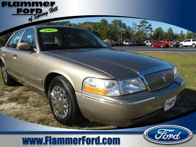 2003 mercury grand marquis gs for sale in spring hill florida classified. Black Bedroom Furniture Sets. Home Design Ideas