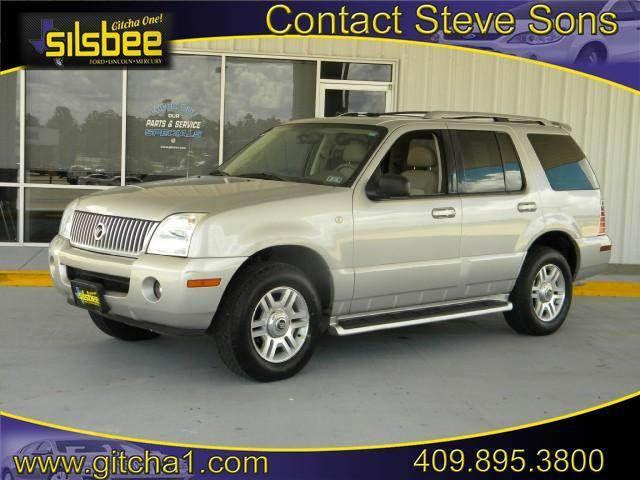 2003 mercury mountaineer for sale in silsbee texas classified. Black Bedroom Furniture Sets. Home Design Ideas