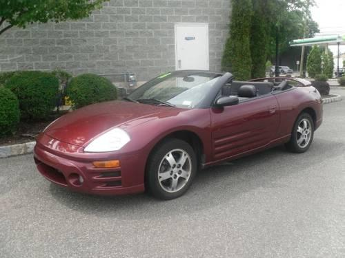 2003 mitsubishi eclipse convertible gs spyder for sale in saddle brook new jersey classified. Black Bedroom Furniture Sets. Home Design Ideas