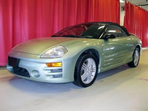 2003 mitsubishi eclipse spyder for sale in clementwood. Black Bedroom Furniture Sets. Home Design Ideas