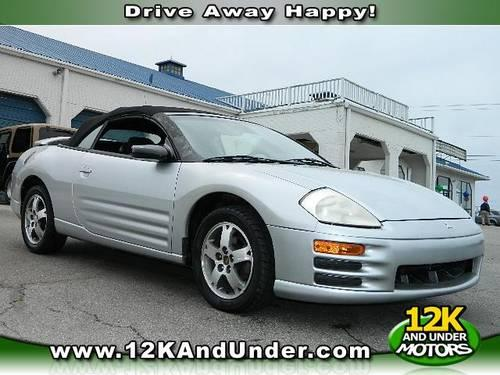 2003 mitsubishi eclipse spyder convertible gs for sale in nicholasville kentucky classified. Black Bedroom Furniture Sets. Home Design Ideas