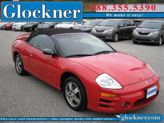 2003 Mitsubishi Eclipse Spyder Gt For Sale In Portsmouth Ohio
