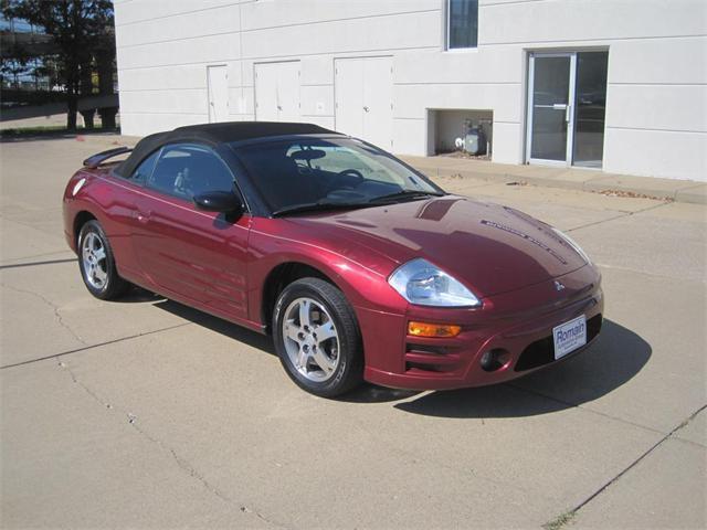 2003 Mitsubishi Eclipse Spyder Gt For Sale In Evansville Indiana
