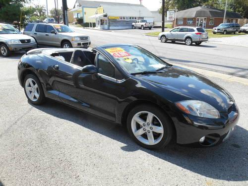 2003 mitsubishi eclipse spyder gt convertible coupe for sale in nashville tennessee classified. Black Bedroom Furniture Sets. Home Design Ideas