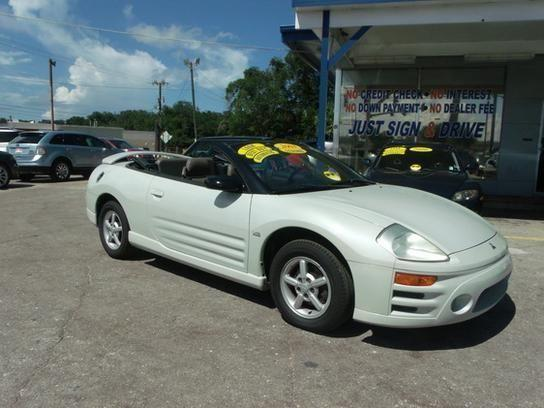 2003 mitsubishi eclipse spyder gts white for sale in. Black Bedroom Furniture Sets. Home Design Ideas