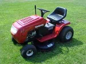 2003 yard machine lawn tractor