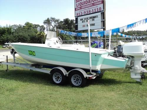 2003 Nichols Marine Fishing Boat 21 39 Foot For Sale In