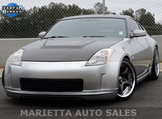 2003 nissan 350z 2dr cpe performance manual trans for sale in marietta georgia classified. Black Bedroom Furniture Sets. Home Design Ideas
