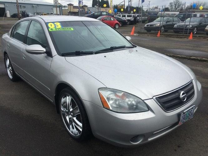 2003 nissan altima 4dr sdn auto for sale in salem oregon classified. Black Bedroom Furniture Sets. Home Design Ideas