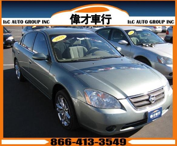 2003 nissan altima for sale in san diego california. Black Bedroom Furniture Sets. Home Design Ideas