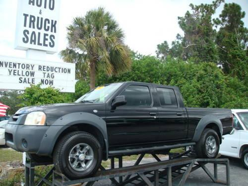 2003 nissan frontier crew cab 4x4 for sale in dunedin. Black Bedroom Furniture Sets. Home Design Ideas