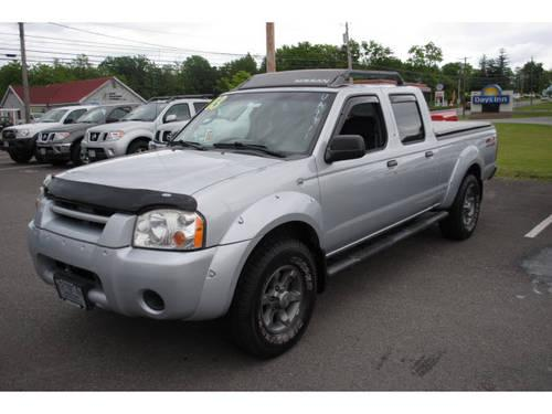 2003 nissan frontier crew cab 4x4 xe v6 for sale in new. Black Bedroom Furniture Sets. Home Design Ideas