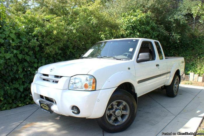 2003 nissan frontier xe v6 king cab desert runner for sale in shadow hills california. Black Bedroom Furniture Sets. Home Design Ideas