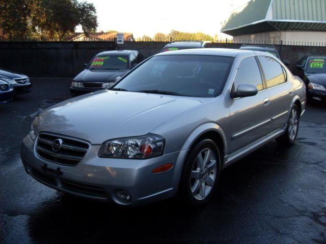 2003 nissan maxima gle silver fully loaded family size runs great for sale in gold river. Black Bedroom Furniture Sets. Home Design Ideas