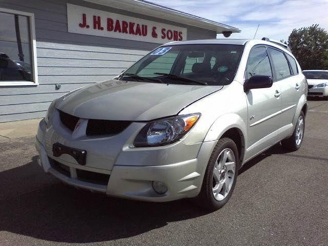 2003 Pontiac Vibe For Sale In Cedarville Illinois