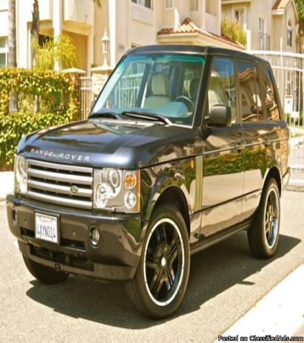 2003 range rover superb for sale in garden valley california classified. Black Bedroom Furniture Sets. Home Design Ideas