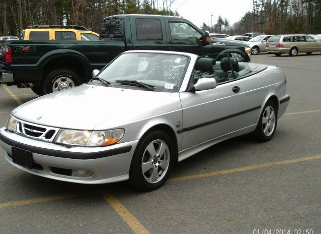 2003 Saab 9 3 Se Convertible Silver Automatic For In Kingston New Hampshire