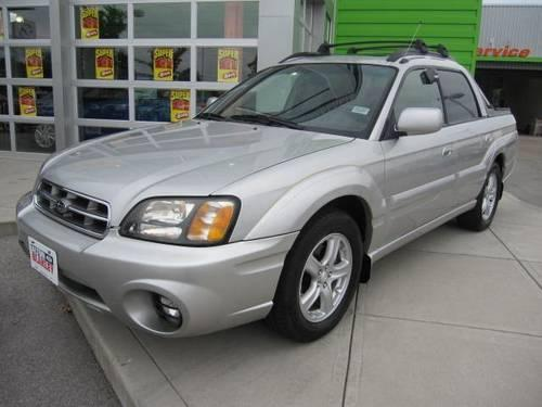2003 subaru baja sport utility for sale in acorn kentucky. Black Bedroom Furniture Sets. Home Design Ideas