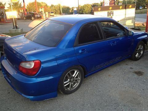 2003 subaru impreza sedan wrx sedan 4d for sale in freysville pennsylvania classified. Black Bedroom Furniture Sets. Home Design Ideas