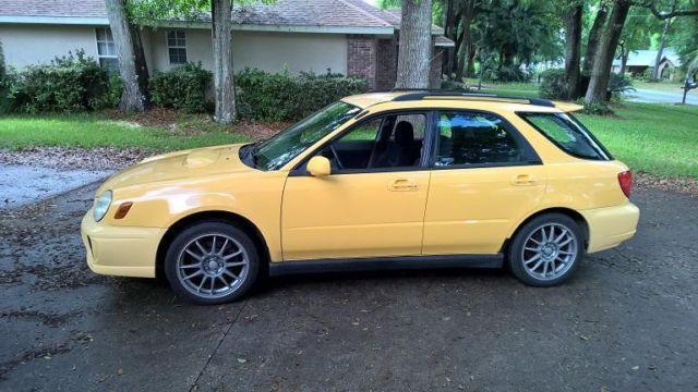 2003 Subaru Impreza WRX Wagon - 97k Miles