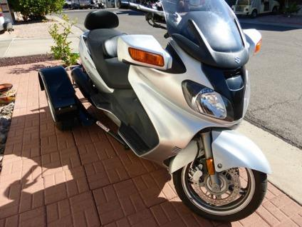 2003 suzuki burgman 650 scooter voyager trike for sale in dallas texas classified. Black Bedroom Furniture Sets. Home Design Ideas