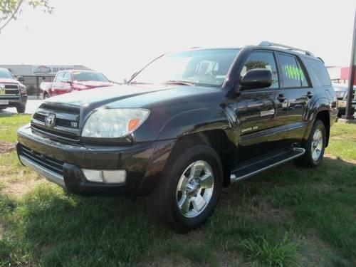 2003 toyota 4runner sport utility 4dr limited v8 auto 4wd natl 14795 for sale in lexington. Black Bedroom Furniture Sets. Home Design Ideas