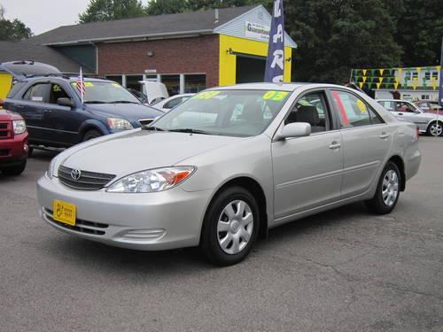 2003 toyota camry le for sale in rochester new hampshire classified. Black Bedroom Furniture Sets. Home Design Ideas
