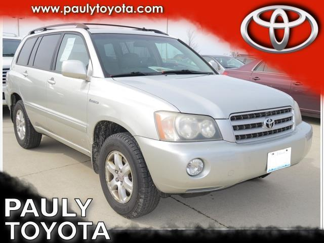 2003 Toyota Highlander Limited AWD Limited 4dr SUV