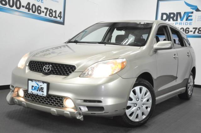 2003 toyota matrix xr xr 4dr wagon for sale in houston texas classified. Black Bedroom Furniture Sets. Home Design Ideas