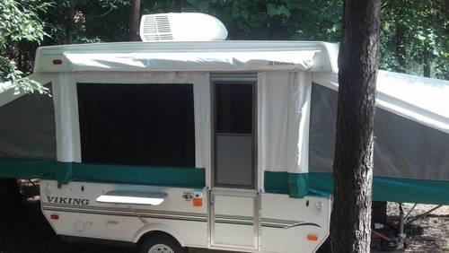 2003 Viking Saga Pop Up Camper A C Great Condition For Sale In Coffeetown Pennsylvania