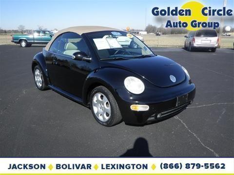 2003 volkswagen new beetle 2 door convertible for sale in jackson tennessee classified. Black Bedroom Furniture Sets. Home Design Ideas