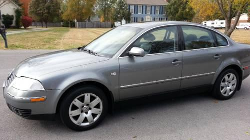 volkswagen passat glx motion  sedan  wheel drive  sale  murfreesboro tennessee
