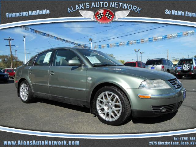 2003 volkswagen passat w8 4motion for sale in reno nevada classified. Black Bedroom Furniture Sets. Home Design Ideas