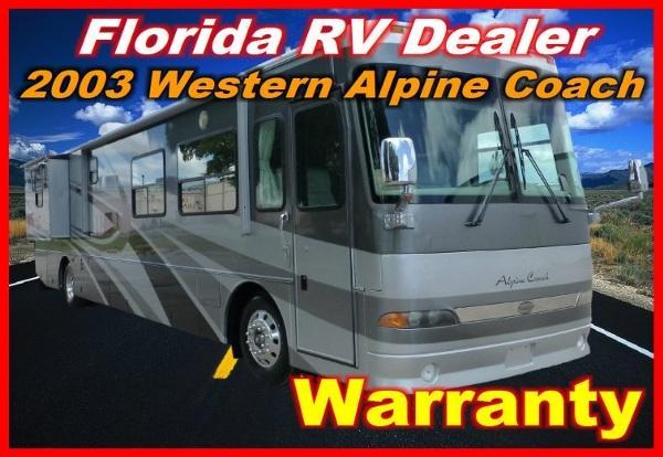 2003 western alpine coach 40 fdst for sale in port charlotte florida classified. Black Bedroom Furniture Sets. Home Design Ideas