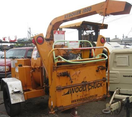 2003 Wood Chuck Hyroller 1200 Chipper Gold