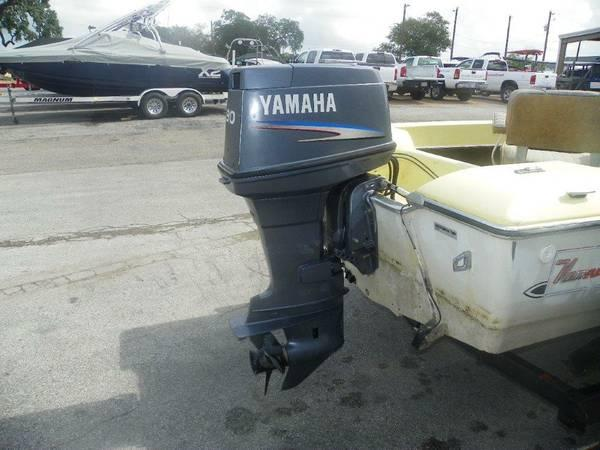 2003 yamaha 90 hp outboard motor boat for sale in austin
