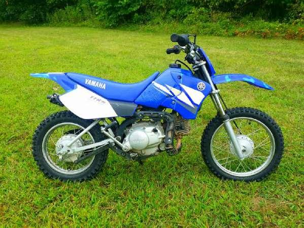 2003 yamaha tt r90 e electric start for sale in paw paw for Yamaha ttr 90 for sale
