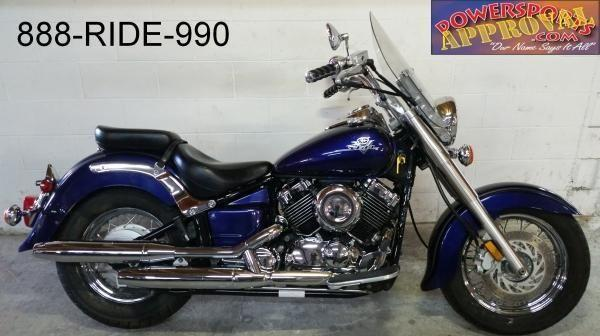 2003 Yamaha Vstar 650 Classic Motorcycle For Sale U2154