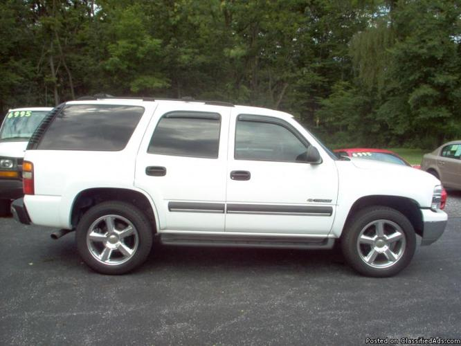 2003 chevy tahoe for sale in duncansville pennsylvania classified. Black Bedroom Furniture Sets. Home Design Ideas