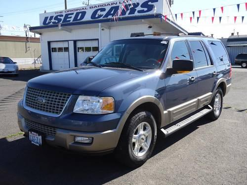 2003 ford expedition 4 door suv eddie bauer for sale in spokane washington classified. Black Bedroom Furniture Sets. Home Design Ideas