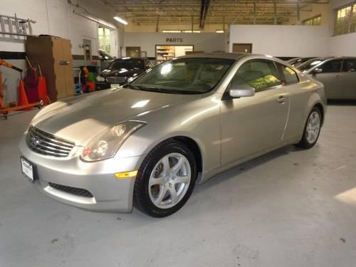 2003 infiniti g35 2d coupe base for sale in belle haven connecticut classified. Black Bedroom Furniture Sets. Home Design Ideas