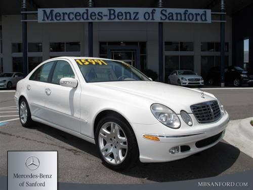 2003 mercedes benz e500 sedan e500 sedan for sale in lake. Black Bedroom Furniture Sets. Home Design Ideas