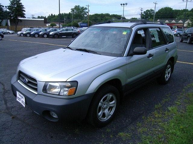 2003 subaru forester 2 5 x for sale in albany new york classified. Black Bedroom Furniture Sets. Home Design Ideas
