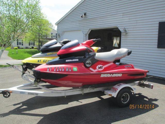 2004 & 1998 seadoo xp limited with trailer