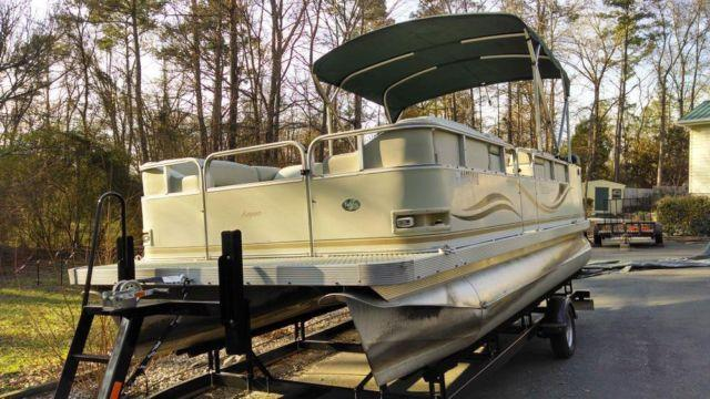 2004 - 20 foot Playbuoy Aspen Tahoe Pontoon Boat with new ...